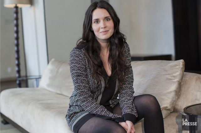 Mélissa Désormeaux-Poulin sera très présente au petit écran... (PHOTO ÉDOUARD PLANTE-FRÉCHETTE, LA PRESSE)