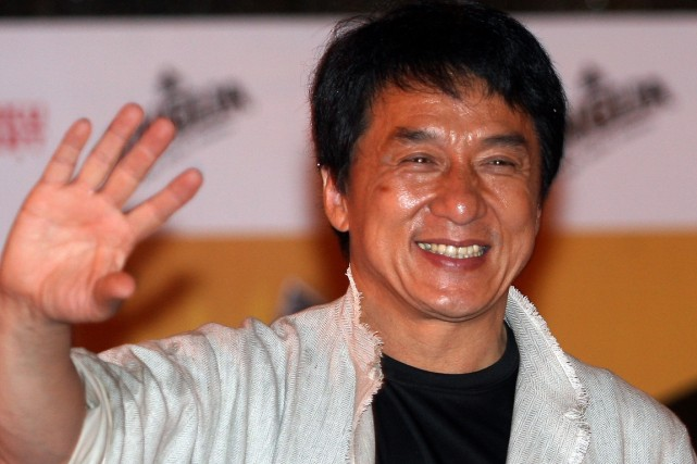 Jackie Chan... (Photo: archives AFP)