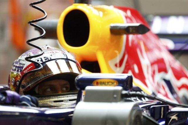 Sebastian Vettel... (Photo Pablo Sanchez, Reuters)