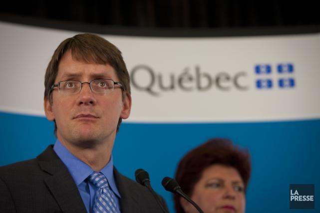Le ministre des Transports et des Affaires municipales,... (Photo André Pichette, La Presse)