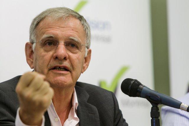 Marcel Côté, chef de la coalition Montréal Marcel... (PHOTO ULYSSE LEMERISE, COLLABORATION SPÉCIALE)