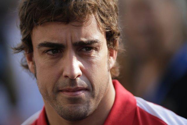Fernando Alonso... (Photo Tim Chong, Reuters)