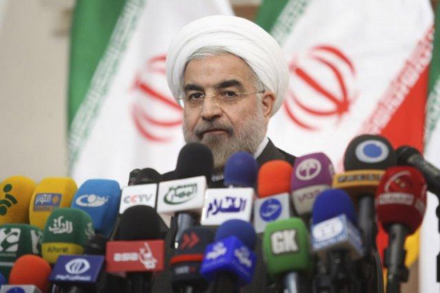 Le président iranienHassan Rohani.... (Photo: Reuters)