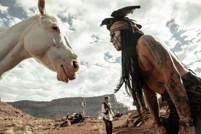 Produit par Jerry Bruckheimer,The Lone Rangers'est avéré un... (Disney)