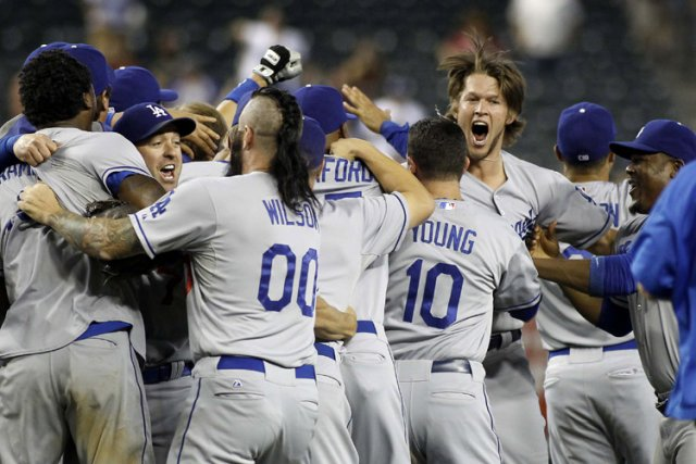Les Dodgers ont remporté le titre de la... (Photo: Reuters)