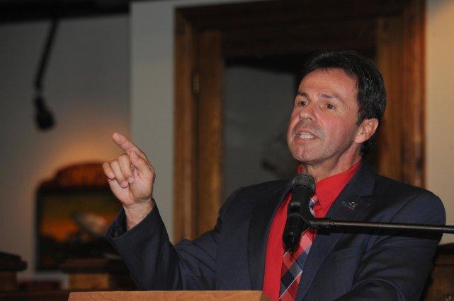 Le maire sortant de Shawinigan, Michel Angers, a... (Sylvain Mayer)