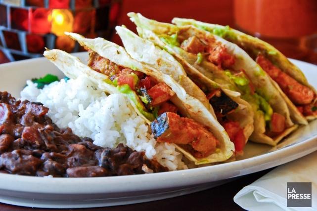 Environ 150 clients d'une chaîne de restauration mexicaine rapide du sud de la... (Photos.com)