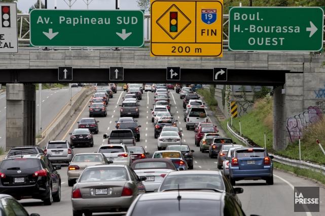 Le prolongement de la ligne bleue du métro de Montréal, annoncé vendredi par le... (PHOTO ALAIN ROBERGE, LA PRESSE)