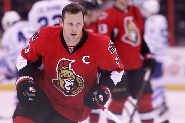 Jason Spezza... (PATRICK WOODBURY, LeDroit)