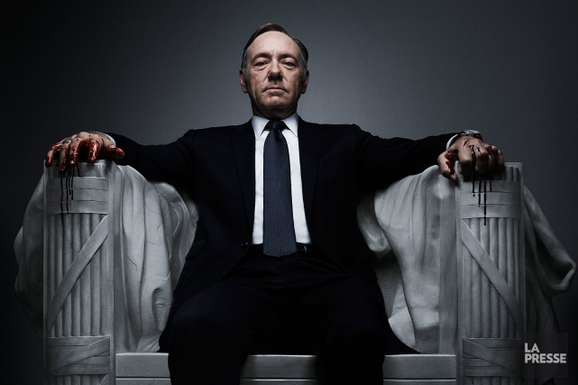 Kevin Spacey dans House of Cards.... (Photo: archives La Presse)