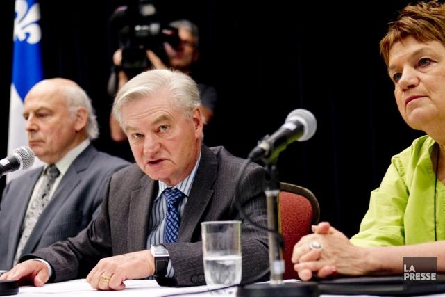 La commission sera présidée par l'ancien ministre péquiste... (PHOTO MARCO CAMPANOZZI, LA PRESSE)