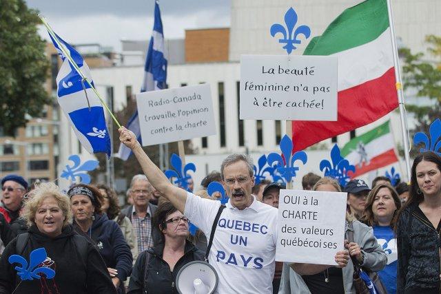 La marche s'est déroulée sans incident. La manifestation... (Photo Graham Hughes, PC)