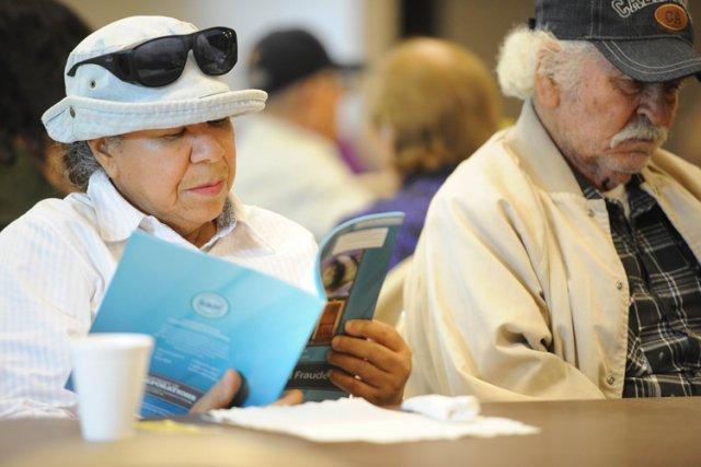 Une séance d'information sur les assurances de l'Obamacare.... (Photo: AFP)