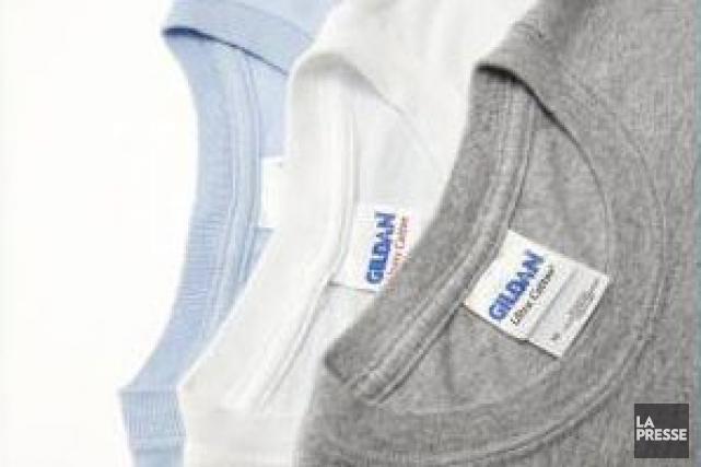 Vêtements de sport Gildan (T.GIL) a indiqué mercredi que son... (PHOTO IVANOH DEMERS, ARCHIVES LA PRESSE)