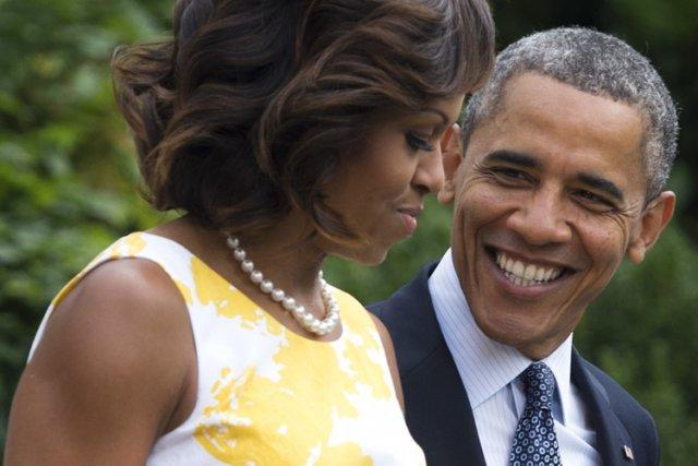 Les Obama ont donné 59 251 $ à... (Photo: AFP)