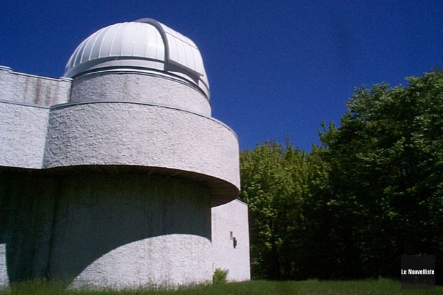 L'observatoire de Champlain... (Photo: Archives Le Nouvelliste)