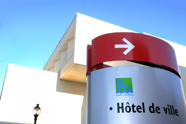 L'hôtel de ville de Trois-Rivières.... (Photo: Archives, Stéphane Lessard)