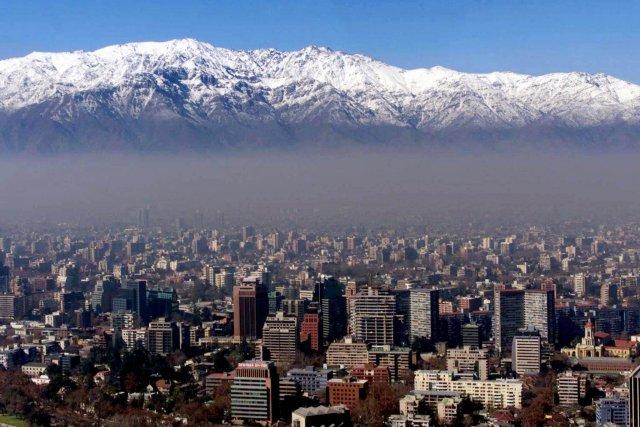 La ville de Santiago, au Chili (sur notre... (Photo Reuters)