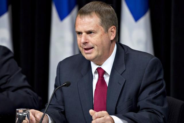 Le vérificateur général du Québec, Michel Samson.... (Photo: PC)