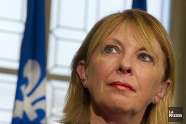La députée libérale Christine St-Pierre... (Photo Ivanoh Demers, archives La Presse)