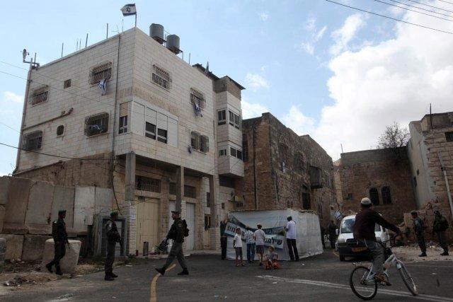 Quelque 190 000 Palestiniens vivent à Hébron, la... (PHOTO HAZEM BADER, AFP)