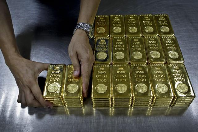 a Chine, le plus gros pays consommateur d'or, a lancé mardi un cours de... (Photo archives Associated Press)
