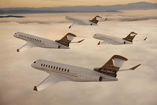 La semaine dernière, Gulfstream a lancé deux nouveaux... (Photo fournie par Bombardier)