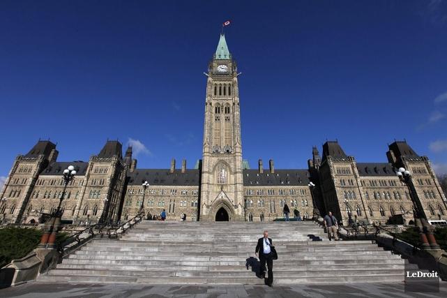Entre autres modifications à la loi électorale canadienne,... (Photo: Simon Séguin-Bertrand, archives Le Droit)