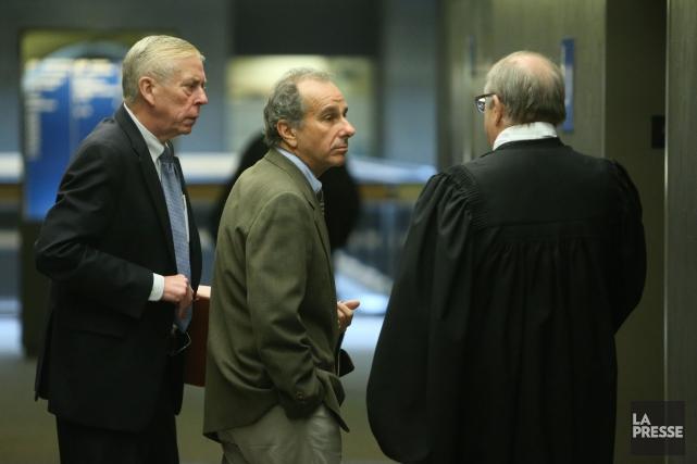 Ronald Weinberg, lors d'un passage en cour en... (Photo Martin Chamberland, La Presse)