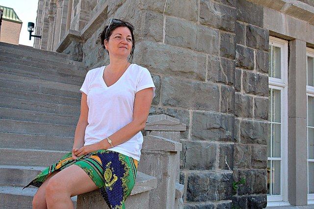 Claudia Méndez se souvient du sentiment de tristesse... (Photo Le Soleil, Pascal Ratthé)
