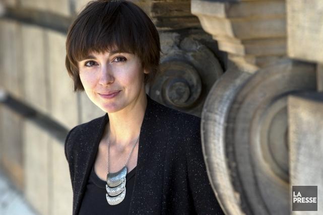 L'auteure Catherine Leroux a remporté le prix littéraire... (Photo: Robert Skinner, archives La Presse)