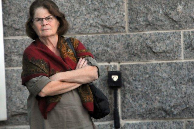 L'une des trois accusées, Ginette Duclos... (La Tribune, Yanick Poisson)