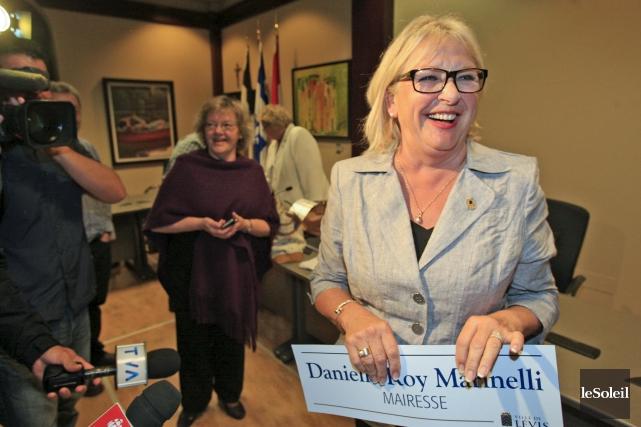 Danielle Roy Marinellia quitté la vie politique en... (Le Soleil, Pascal Ratthé)