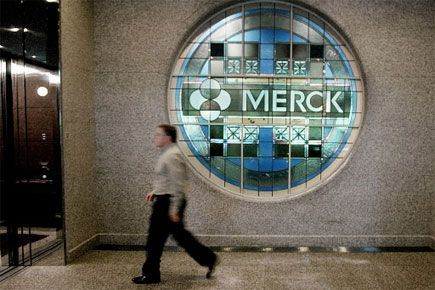Le laboratoire pharmaceutique américain Merck (MRK) a... (Photo archives AP)