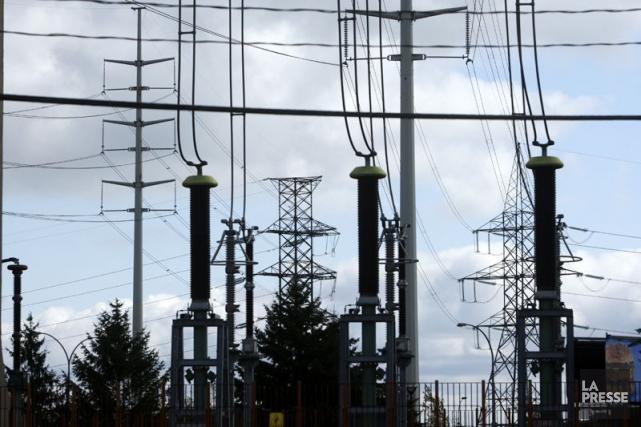 L'importante mise à niveau de l'interconnexion électrique entre le... (Photo Martin Chamberland, Archives La Presse)