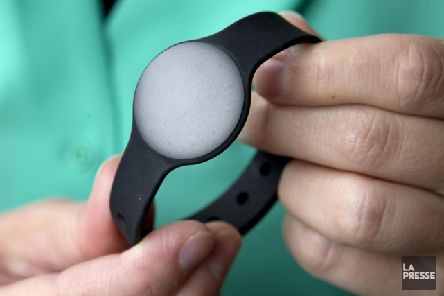 Le Shine de Misfit Wearables (119,95 $).... (PHOTO ALAIN ROBERGE, LA PRESSE)