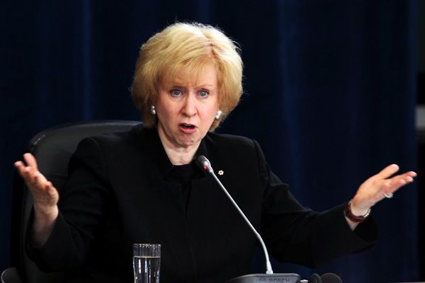 Kim Campbell.... (Photo archives La Presse Canadienne)