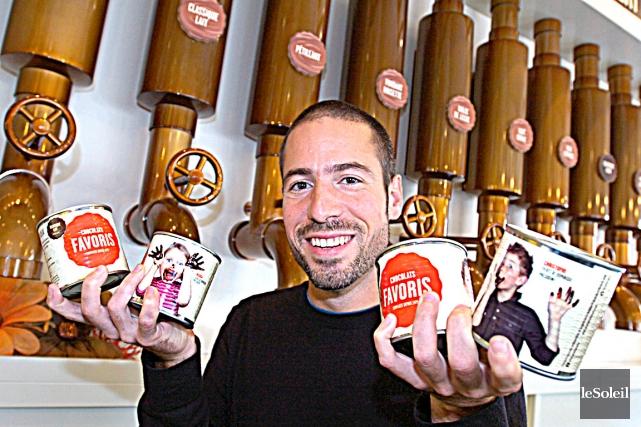 Chocolats favoris vise un chiffre d 39 affaires de 100 for Chambre de commerce de levis