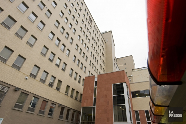 Marc-André Sauriol a travaillé à l'hôpital Saint-Luc (notre... (PHOTO DAVID BOILY, ARCHIVES LA PRESSE)
