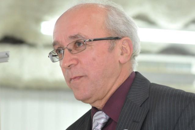 Robert Landry, maire de Saint-Étienne-des-Grès....