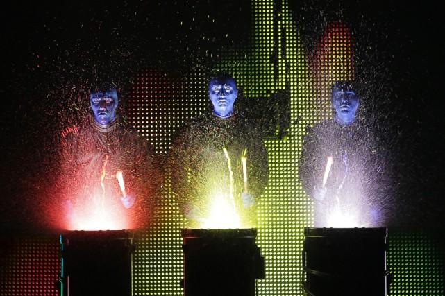 Blue Man Group... (Fournie par la production)