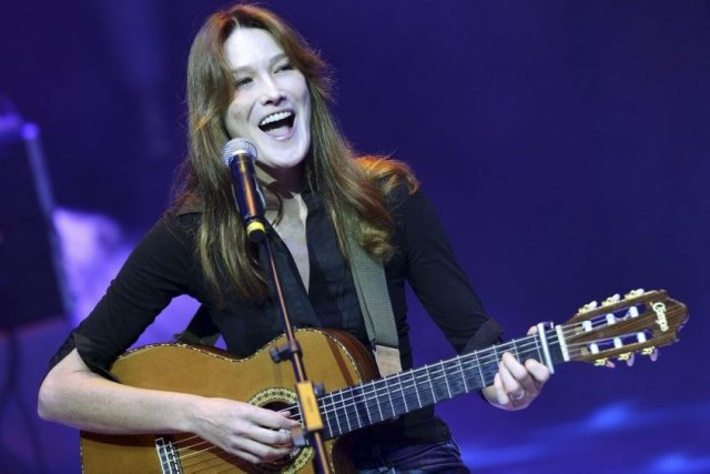 Carla Bruni Sarkozy... (Photo: archives AFP)
