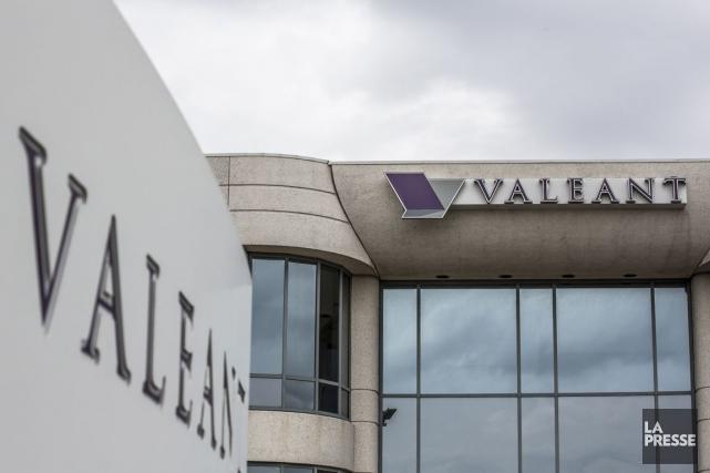 La société Valeant établie à Laval vise une... (PHOTO OLIVIER PONTBRIAND, LA PRESSE)
