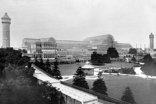 Le Crystal Palace avait été édifié pour l'exposition... (PHOTO ARCHIVES AP)