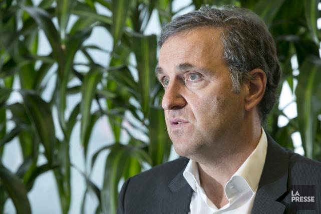 Le PDG de WSP, Pierre Shoiry.... (Photo Hugo-Sébastien Aubert, La Presse)