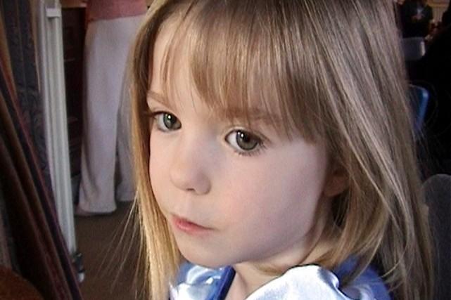 La petite Madeleine, âgée de trois ans, a... (PHOTO ARCHIVES AP/FAMILLE MCCANN)