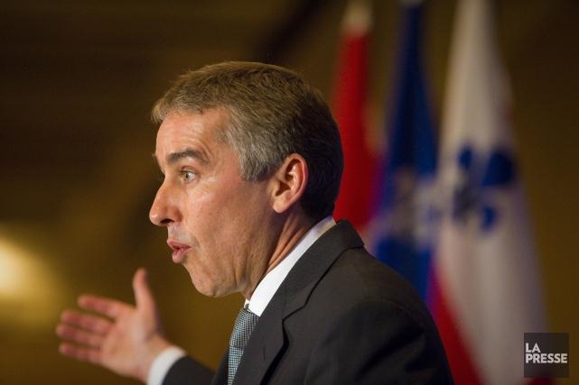 Le ministre des Finances et de l'Économie du... (Photo André Pichette, archives La Presse)
