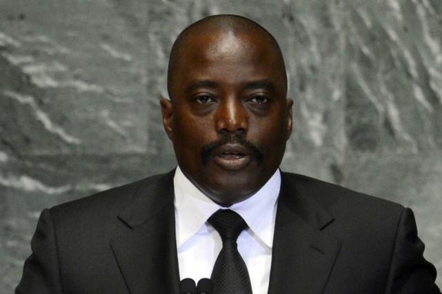 Le président de la République démocratique du Congo... (Photo AFP)