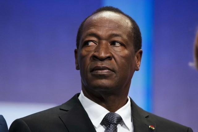 Le président burkinabè, Blaise Compaoré... (LUCAS JACKSON, REUTERS)