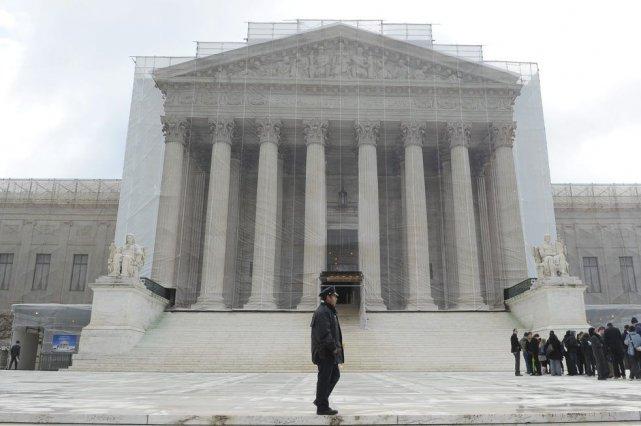 La Cour suprême des États-Unis.... (Photo Mandel Ngan, Agence France-Presse)